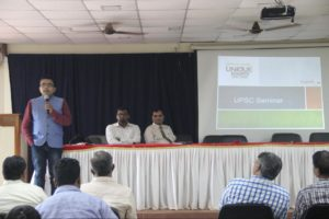 Unique Academy conducted a Workshop on UPSC Exam Preparations